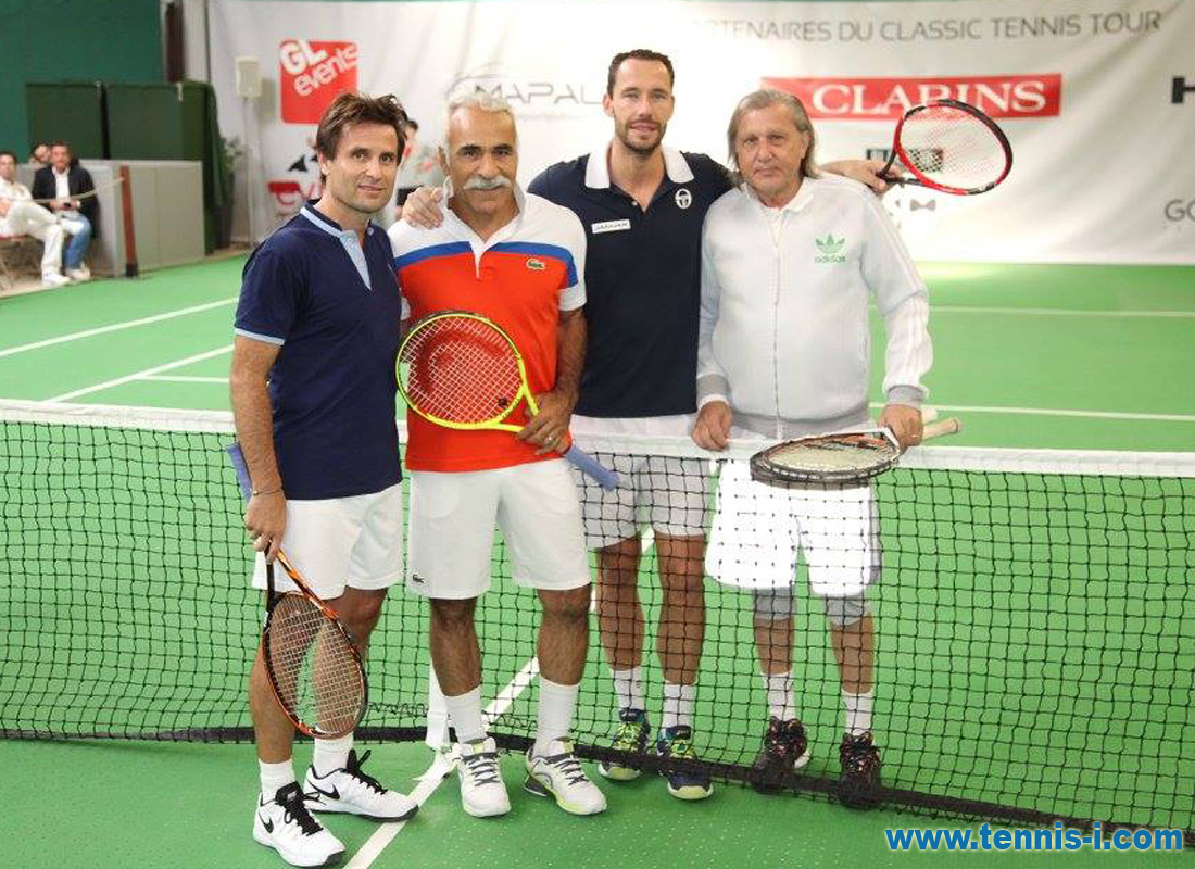 Classic Tennis Tour Paris 2016