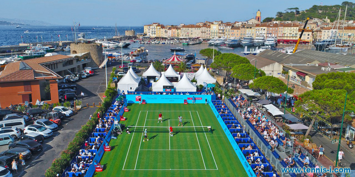 Classic Tennis Tour Saint Tropez court