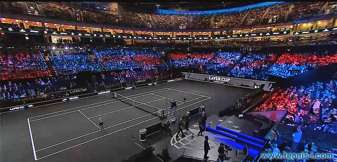 tennis Laver Cup United Center Chicago 2018