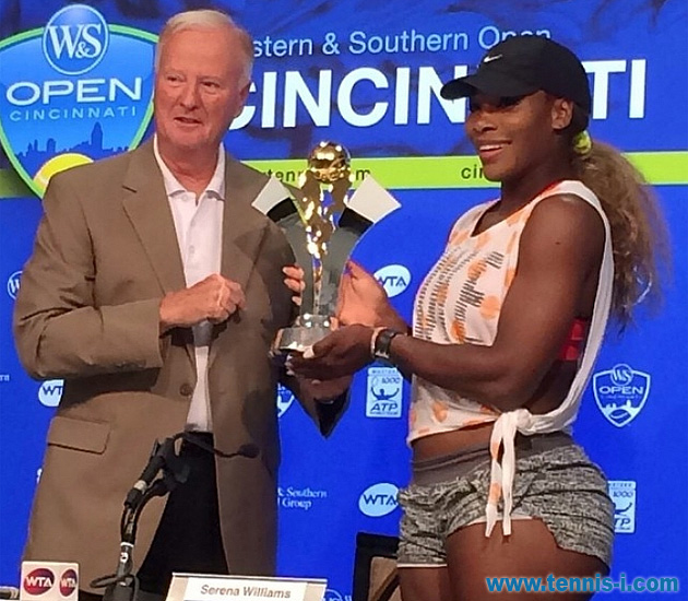 Серена Уильямс US Open Series 2015