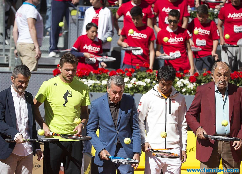 флеш моб Madrid Open Рекорд Гиннесса 1.05.2016