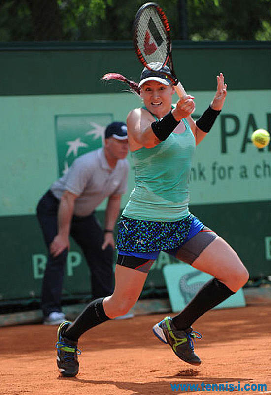 Bethanie Mattek Sands French Open 2012