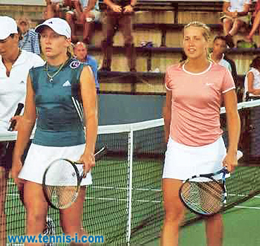 Bethanie Mattek Ashley Harkleroad US Open 2001