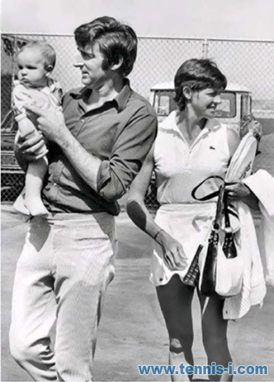 tennis Margaret Court 1972